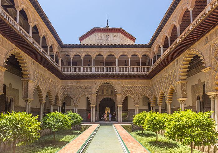 Alcazar of Seville, Spain, Game of Thrones