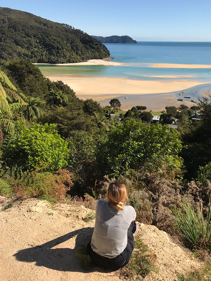 Alex at Awaroa Inlet, Abel Tasman