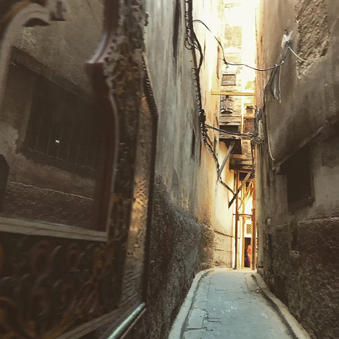 Alleyways in Fez
