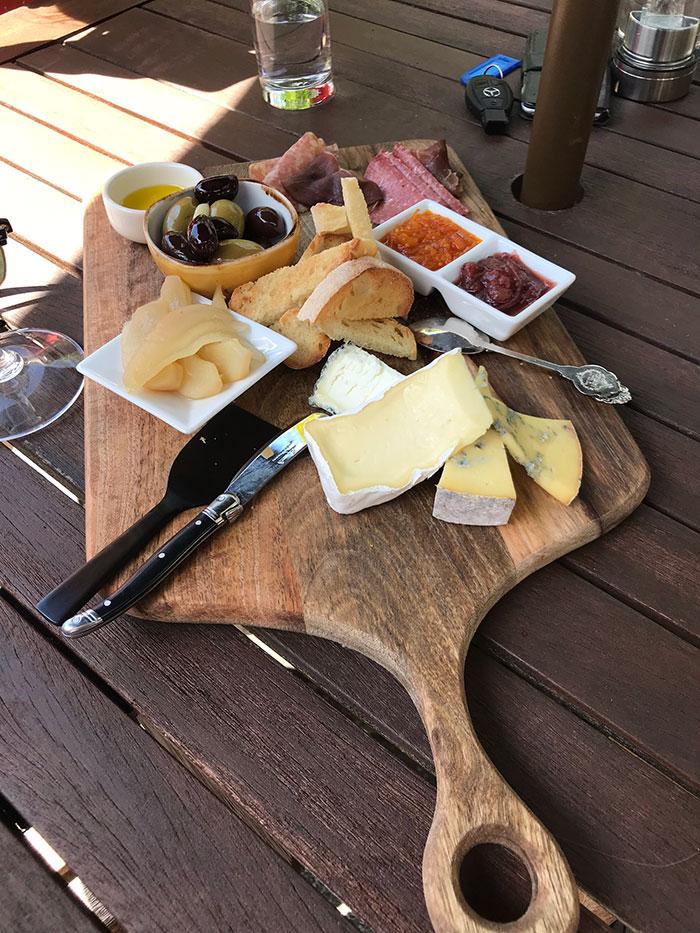 Artisan food platter