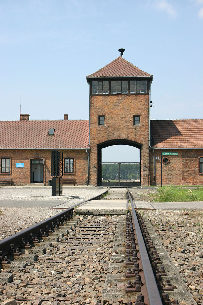 Entrance to Auschwitz, Krakow