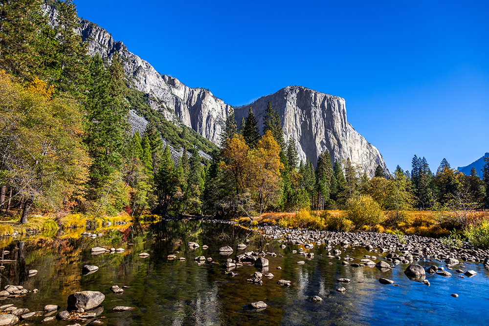 Autumn in Yosemite National Park