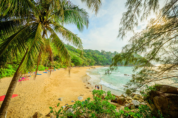 Banana Rock Beach, Phuket, Thailand
