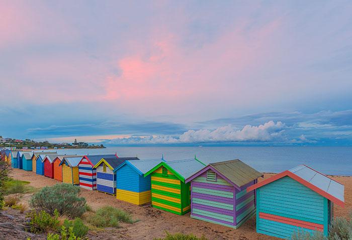 Beach at St Kilda, Melbourne