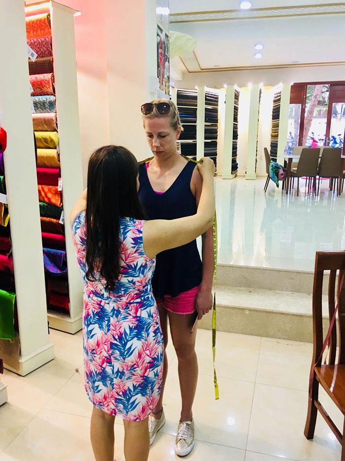 Dressmaker in Hoi An