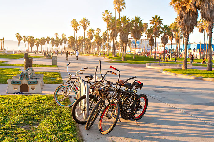 Bicycles, Venice Beach, Los Angeles