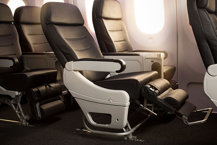 Air New Zealand Premium Economy seats