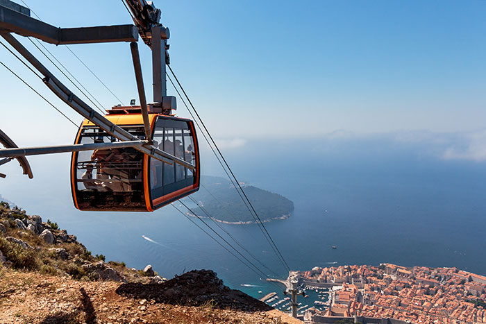 Cable car, Mount Srd, Dubrovnik