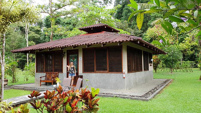Our cabin at Casa Corcovado Jungle Lodge, Costa Rica (image: Bradley Cronin)