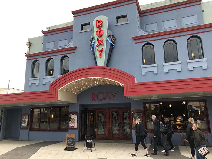 CoCo at The Roxy exterior, Wellington