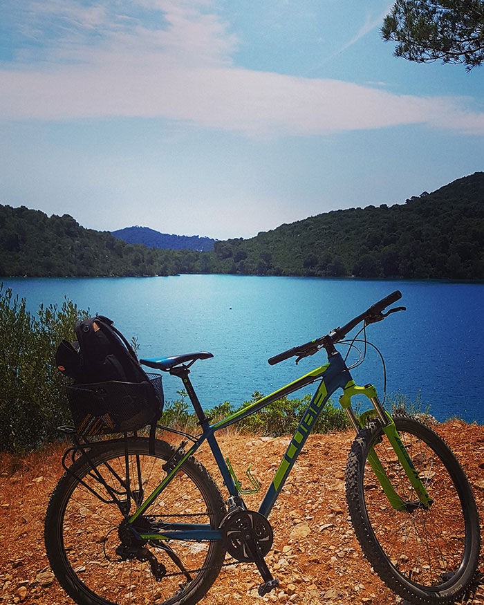 Cycling in Mljet, Dubrovnik