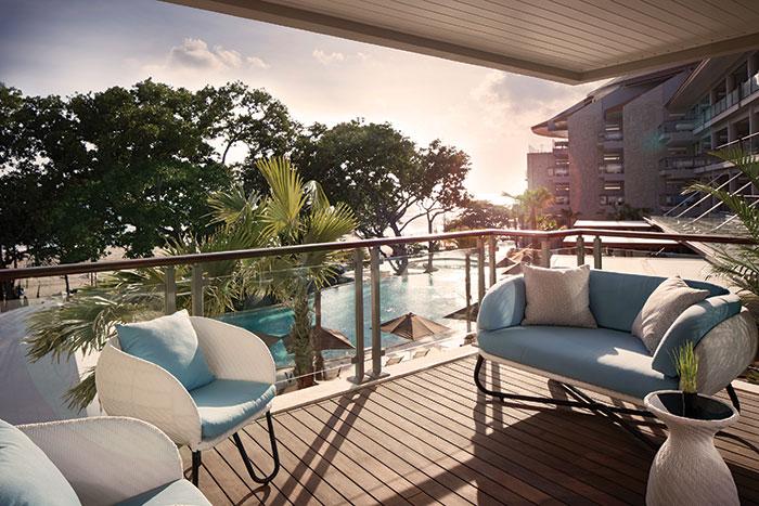 Double-Six Bali, Deluxe Suite Ocean View