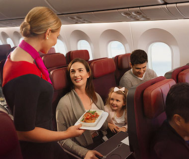 Qantas Economy (Dreamliner)