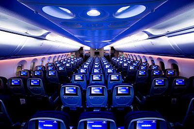 Aeromexico cabin