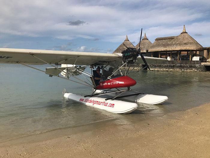 Explore Mauritius by seaplane (image: Joe Stevens)