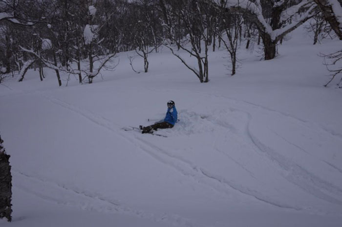 Niseko, home to some of the world's best powder and pratfalls from myself