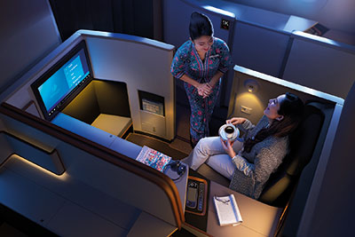 Business Suite, Malaysia Airlines