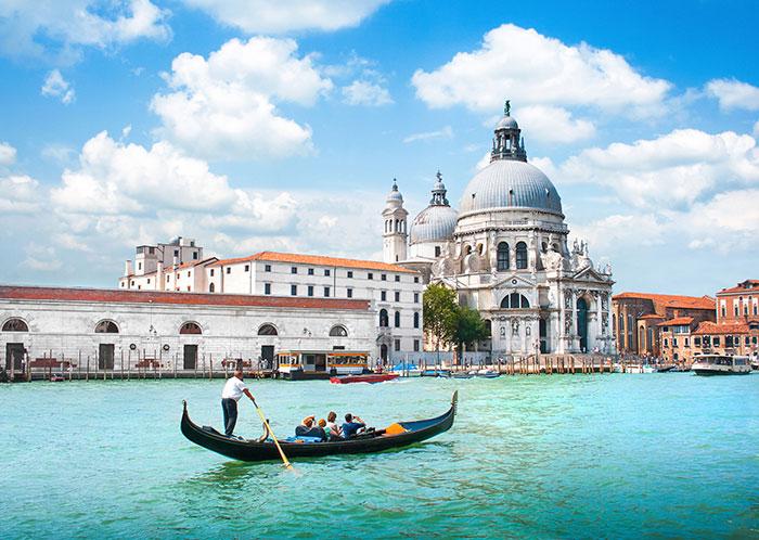 Gondola ride, Venice, Italy