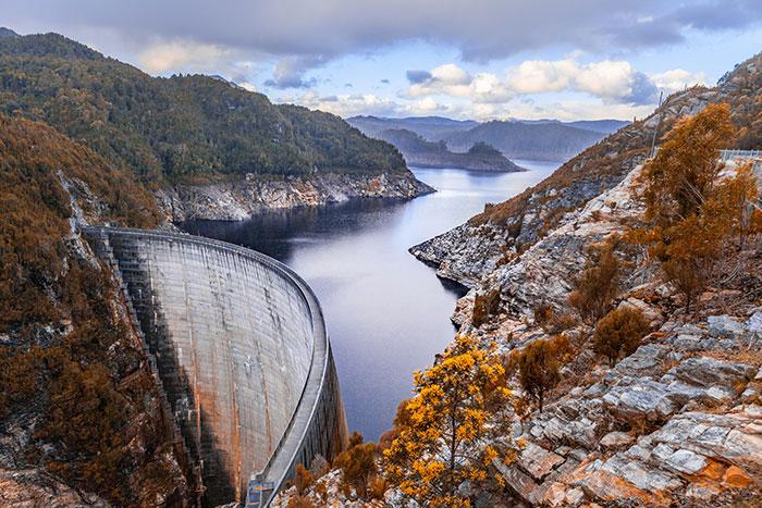 Gordon Dam, Tasmania