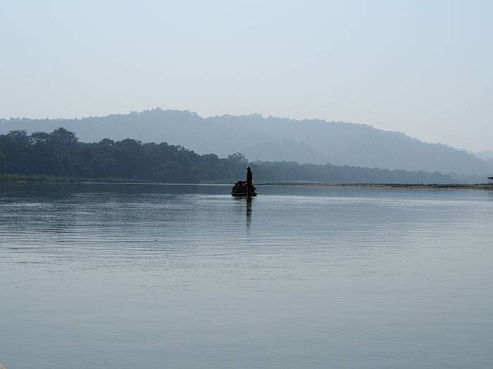 Chitwan lake view