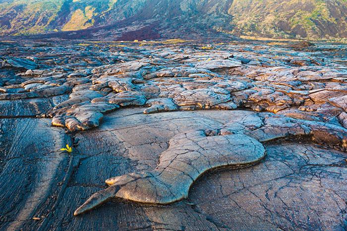Hardened lava, Hawaii Volcanoes National Park