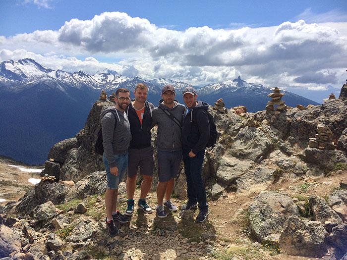 Hiking in Whistler, Summer