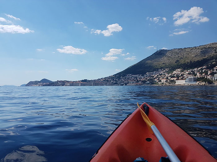 Kayaking in the Adriatic, Dubrovnik