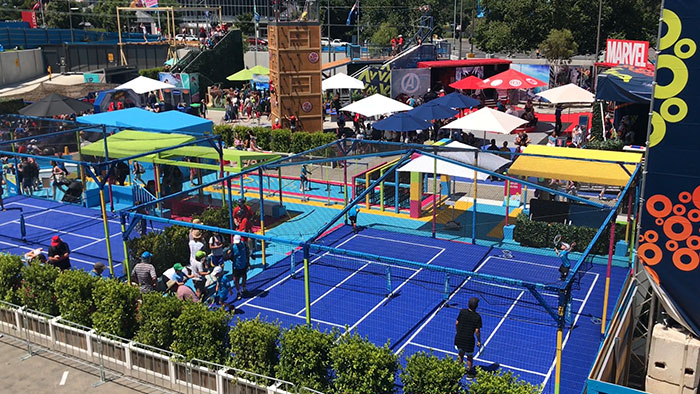 Kids' Zone, Australian Open, Melbourne