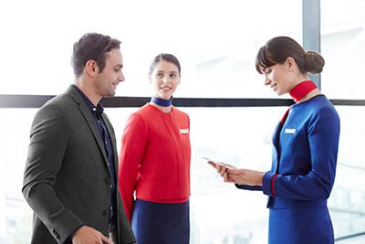 LATAM Airlines Premium Economy check-in