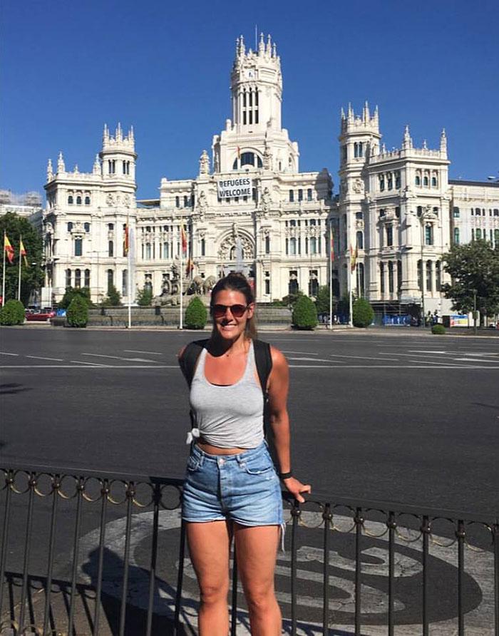 Elyse in Madrid
