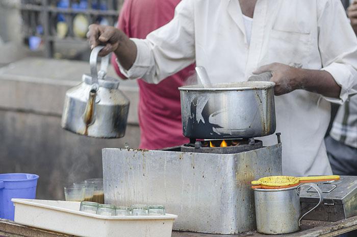 Chai tea, India