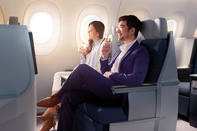Malaysia Airlines Business Class