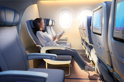 Malaysia Airlines Economy Class extra legroom