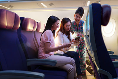 Malaysia Airlines Economy Class