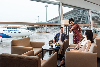 Malaysia Airlines Golden Lounges