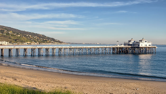 Malibu Surfrider Beach and Pier, Los Angeles