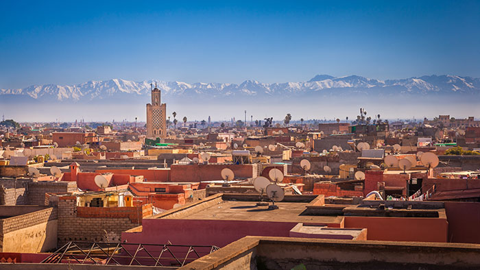 Marrakech and the Atlas Mountains
