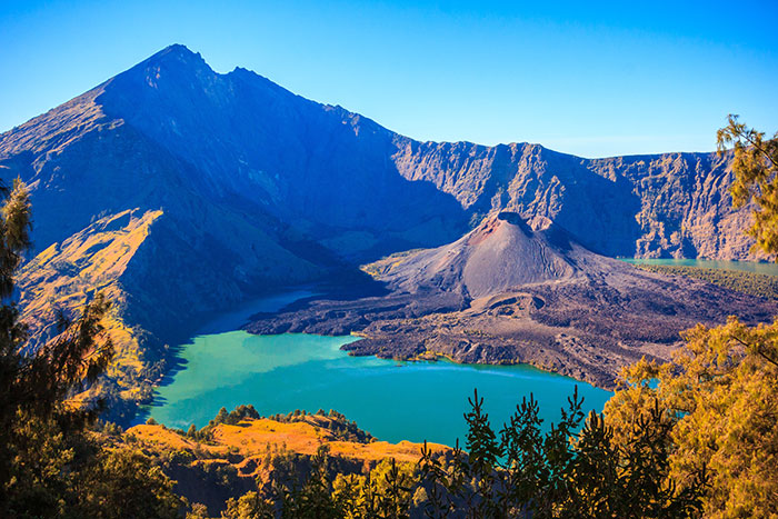 Mount Rinjani, Indonesia