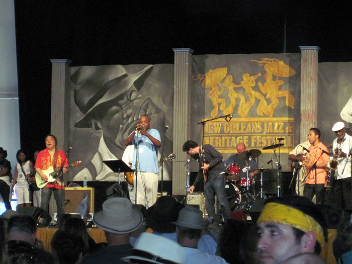 New Orleans Jazz Festival (image: Flickr sailn1)