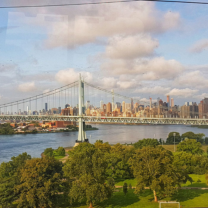 New York to Boston on Amtrak