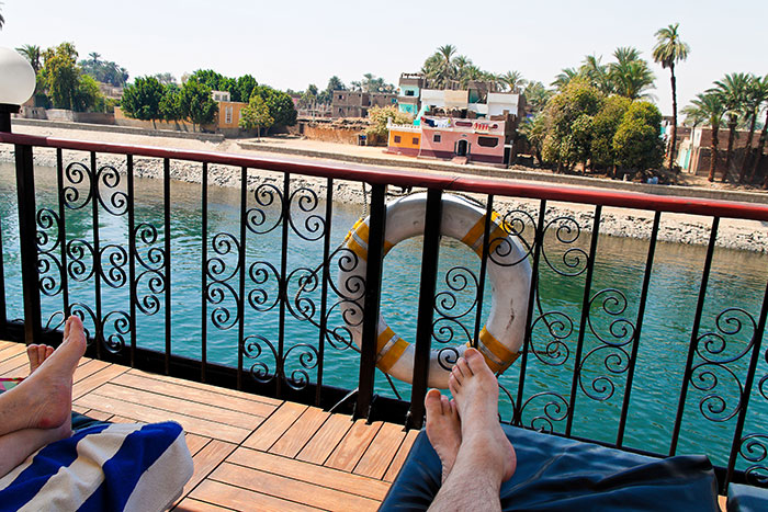 Nile cruising, Egypt