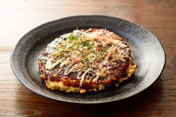 Japanese Okonomiyaki pancake