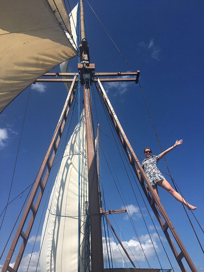On the boat, Komodo Island
