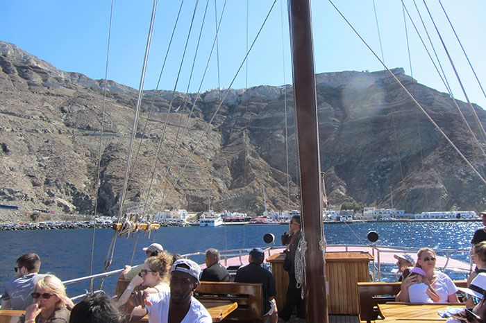 Onboard the Aphrodite (image: Angela Griffin)