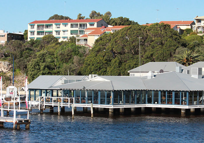 Perth waterfront dining