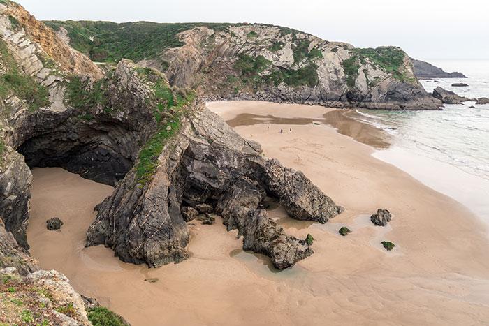 Praia do Odeceixe, Portugal