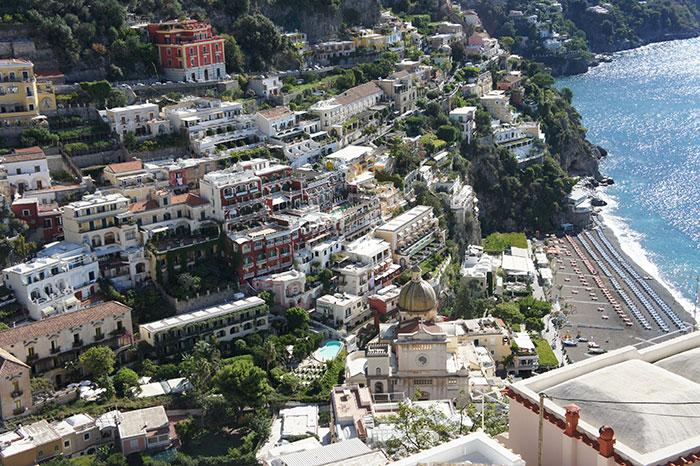 Positano, Italy (image: Octavia Lonergan)