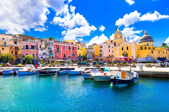 Procida, Bay of Naples, Italy