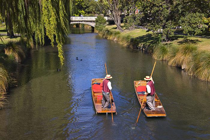 Punting, Avon River, Christchurch