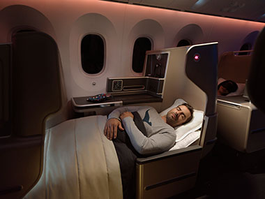 Qantas Business Class (Dreamliner)